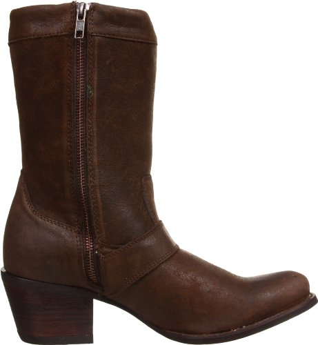 Durango City RD9413 femmes Philly à enfiler Cowboy Western bottes en cuir Marron - marron