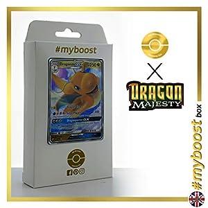 Dragonite-GX 37/70 - #myboost X Sun & Moon 7.5 Dragon Majesty - Box de 10 cartas Pokémon Inglesas