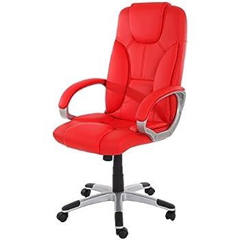 Bürostuhl Polster Chefsessel Schreibtischstuhl Drehstuhl PVC Kunstleder 30Euro
