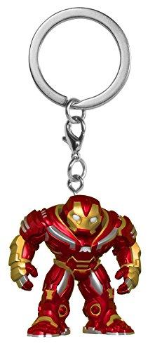 Funko 27300-PDQ 0 POP Schlüsselanhänger Figur: Marvel: Avengers Infinity War: Hulkbuster -