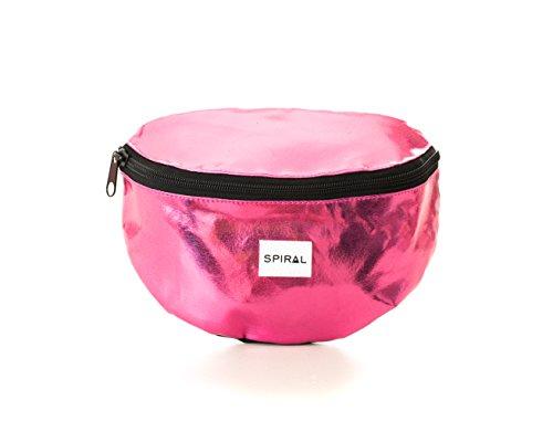 Spiral Hot Pink Rave Bum Bag Gürteltasche, 24 cm, 3 liters, Rosa (Pink)