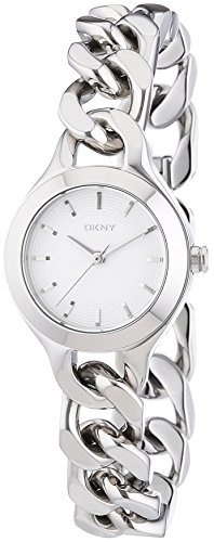 DKNY Damen-Armbanduhr XS Analog Quarz Edelstahl NY2212