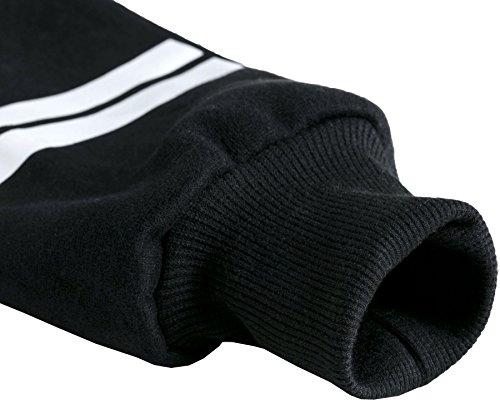 Meyison Damen Kapuzenpullover BTS Hoodie Pullover Jacke Sweatjacke Warm Gefüttent Langärmelige Kapuzenjake Suga-93