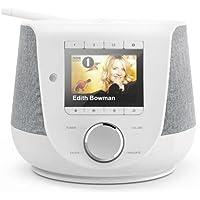 Hama Internetradio mit Digitalradio-Empfang & Handy-Ladefunktion, Smart Radio DIR3200SBT (WLAN/DAB/DAB+/FM, Bluetooth…