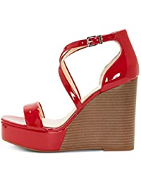 c7f2ee73f60 Jessica Simpson Womens Samira2 Open Toe Special Occasion Ankle Strap Sandals
