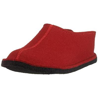 Flair Smily, Chaussons Mules Homme, Rouge (Rubin 11), 48 EUHaflinger