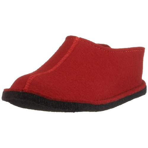 Haflinger Flair Smily, Chaussons Mules Homme Rouge (Rubin 11)