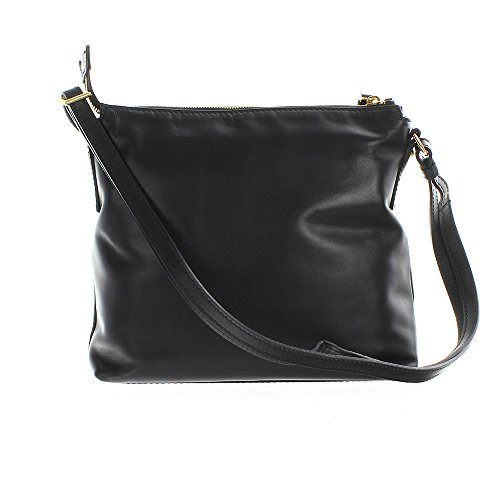 The Bridge Calypso Borsa a tracolla pelle 29 cm nero-goldfarben