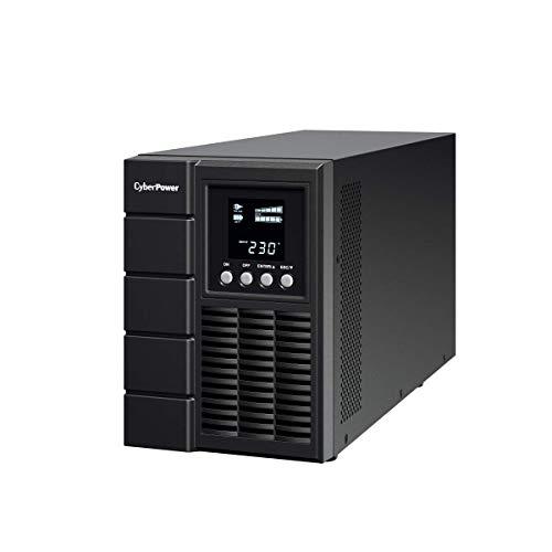 Cyberpower OLS1500E USV extern 800 Watt, 1000 VA Schwarz - Cyberpower Batterien