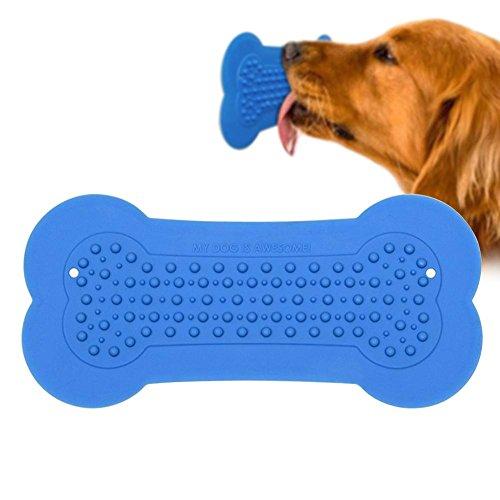 Hund Erdnussbutter Pad Hund Langsam Behandeln Badespender für Hunde Hundebad Ablenkung Spielzeug Lick Pad Macht Bad Zeit Einfach