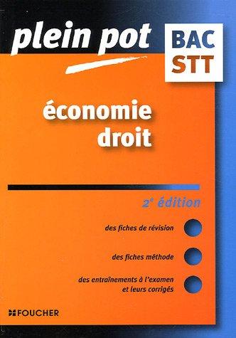 Economie Droit Bac STT