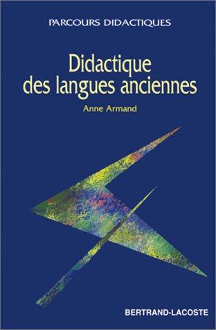 Didactique des langues anciennes