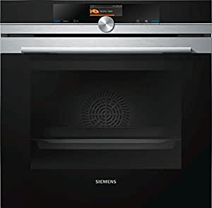 Siemens HB676G0S1F - ovens (Medium, Built-in, Electric, A+, Black, Stainless steel, Buttons, Rotary)