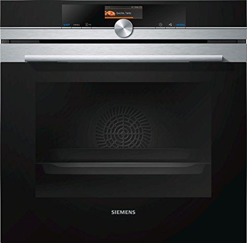 Siemens HB676G0S1F four - fours (Moyenne, Intégré, Electrique, A+, Noir, Acier inoxydable, boutons, Rotatif)