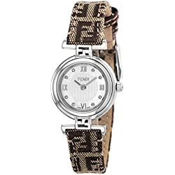 FENDI watch MODA white pearl dial diamond F271242DF