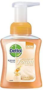 Dettol Foam Handwash Milk and Honey - 250ml