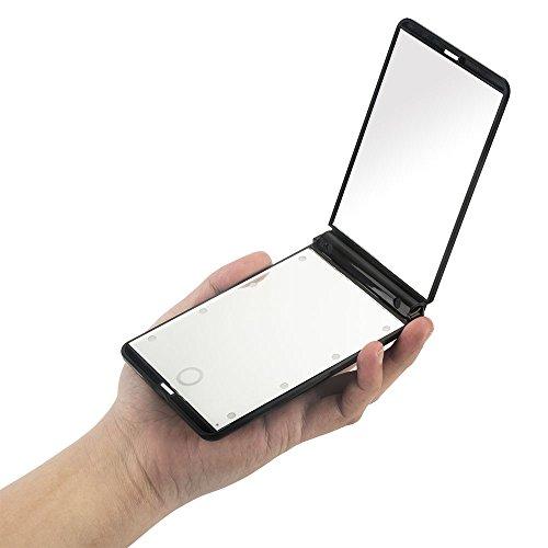 gotofine-ultrafina-con-luz-LED-Compact-espejo-de-viaje-para-maquillaje-1-x-y-2-x-lupa-8-luces-LED-Brillo-ajustable-mejor-porttil-plegable-espejo-de-maquillaje