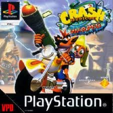 Sony Crash Bandicoot 3 Warped Platinum PS1 Playstation 1