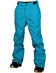 Dos pies descalzos de los niños martillo de carpintero pantalones de esquí niños nieve esquí pantalones, Infantil, color azul ártico, tamaño 176