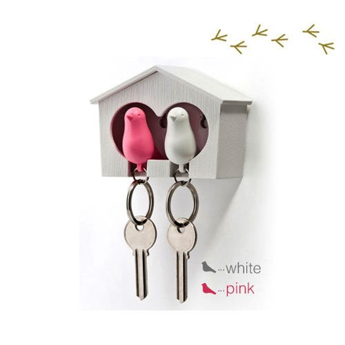 duo-wood-house-sparrow-bird-key-ring-key-holder-whistle-white-pink-bird