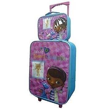 Children's Large Premium Disney's Doc McStuffins Trolley Bag ...