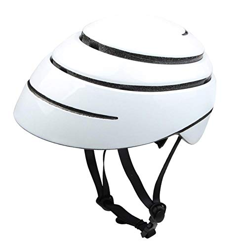 BTAWM Helmets Faltbare Fahrrad Fahrradhelm tragbare Ultraleicht EPS + PC Sicherheit Rennrad Helm Stadt Radfahren Ausrüstung
