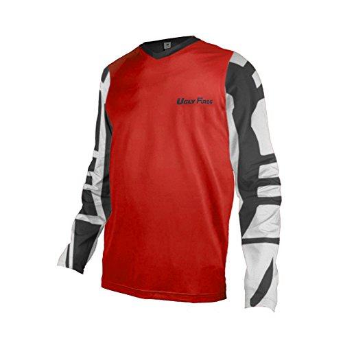 Uglyfrog+ 2019 Sport Cycling Element MX Jersey Enduro Cross Motorrad Motocross/MTB/Mountain Bike Wear Downhill Rundhals Shirt Herren Langarm Frühjahr Style