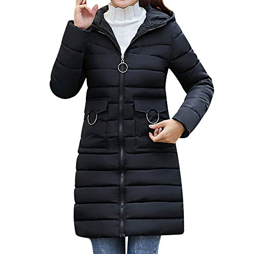 Damen Winterjacke Wintermantel Lange Daunenjacke Jacke Outwear Frauen Winter Warm Daunenmantel Arbeiten Sie Festen beiläufigen dickeren dünnen Mantel um von Innerternet