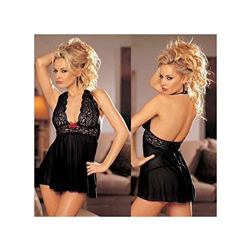 BxmbJxqbrnx Plus Size Erotic Lace Underwear Sexy Hot Erotic Babydoll Dress Sexy Lingerie Women Lace Costumes Night Gown Mini Sex Clothing 6XL XXL -