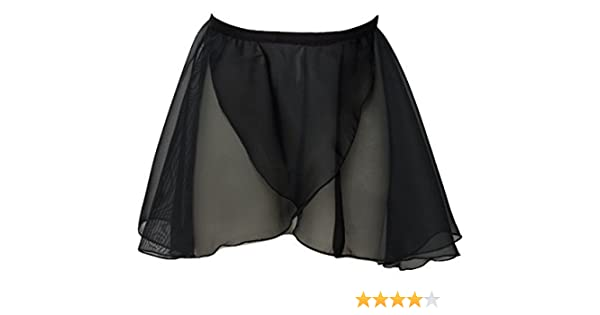 Girls Pink Georgette Wrap over Ballet Skirt Chiffon RAD Style