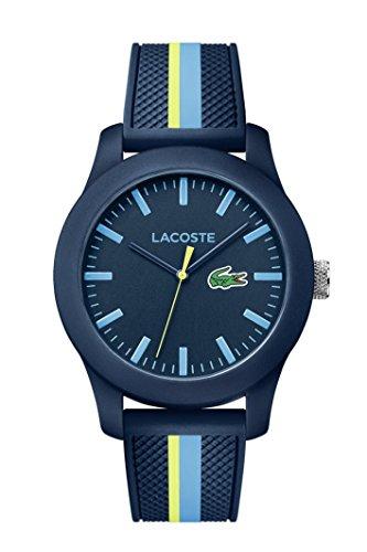b64539d92022 Lacoste Reloj Análogo clásico para Hombre de Cuarzo con Correa en Silicona  2010930
