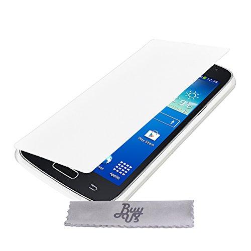 Etui Housse Blanc ExtraSlim Samsung Galaxy Core 4G LTE SM G386F + STYLET et 3 FILMS OFFERTS!