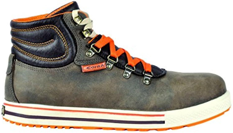 Cofra 35150 – 002.w45 Shot Clock S3 SRC – zapatos de seguridad talla 45 MARRÓN
