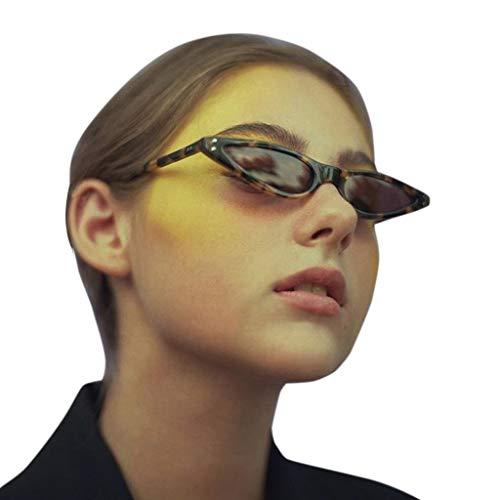 Qinsling occhi di gatto triangle occhiali da sole occhi di gatto retrò per uomini e donne donna vintage retro eyewear integrato bicchieri