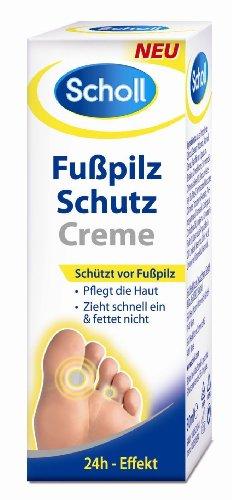 Crema protectora de pie de atleta Scholl 25g.