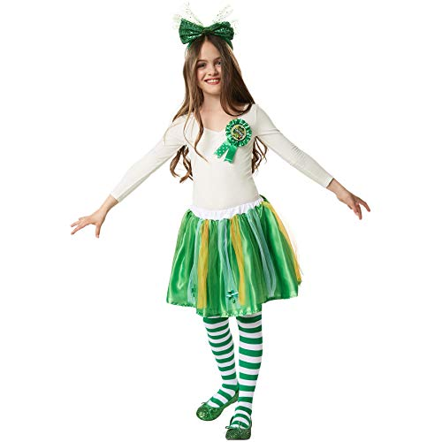 dressforfun 900546 Unisex Kinderkostüm St. Patrick's Day Tutu in Nationalfarben, Tutu in irischen Nationalfarben (140/152| Nr. 302628)
