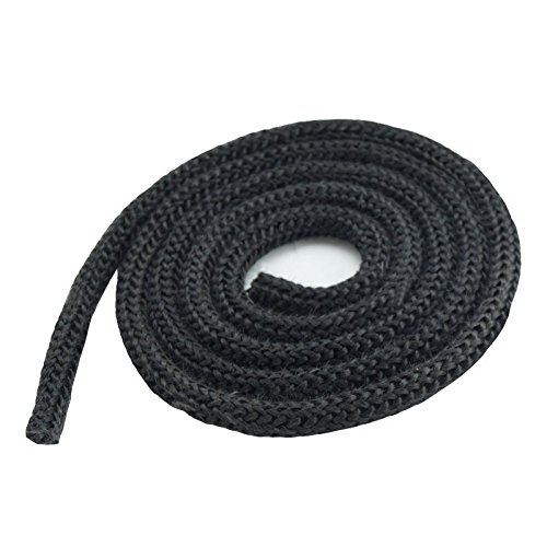 Dichtschnur Kordel für Kaminöfen schwarz/anthrazit 20mm