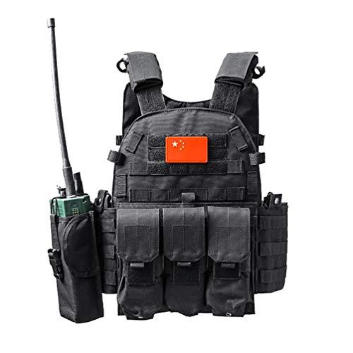 Xinwcang Chaleco Táctico Militar Aire Libre Juego