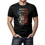 Photo de JINFENGT Men's T-Shirts/Homme Manches Courtes Captain Beefheart & His Magic Band Poster T-Shirts Tee Black par JINFENGT