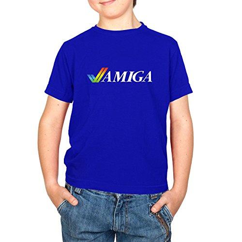 Texlab Classic Amiga - Kinder T-Shirt, Größe XS, Marine