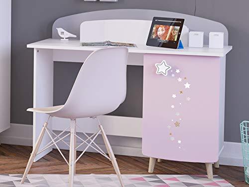 möbelando Kinder-Schreibtisch Arbeitstisch Maltisch Holztisch Basteltisch Savannah I