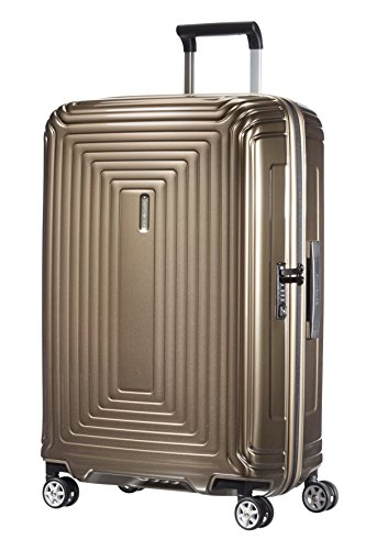 Samsonite Neopulse - Spinner 69 - 3 Kg, Valise 69 cm, 74 litres, Marron (Metallic Sand)