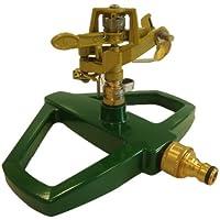 Greenkey Arroseur automatique à canon impulsion avec base métallique