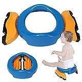 Yying 2 in 1 Reise Potty & Training Sitz Baby Faltbare Töpfchen Stuhl Kinder WC Assistent