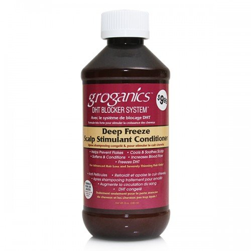 Groganics Deep Freeze Scalp Stimulant Conditioner 240ml (Gro-haar-behandlung)