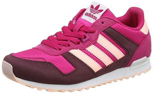 Zx 700 Bb2445 Kurzschaft Stiefel, Bold Pink/Haze Coral/Maroon, 39 1/3 EU ()