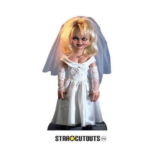 Star Cutouts SC1307 Tiffany Bride of Chucky Kinderspiel, perfekt für Halloween, Freunde und Fans, mehrfarbig