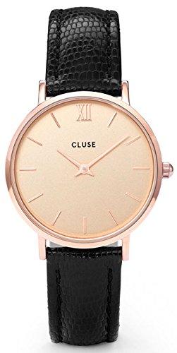 cluse orologio analogico quarzo da donna con cinturino in pelle cl30051