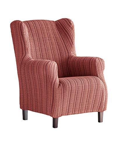 Martina Home Schutzhülle aus elastischem Sessel Ohrensessel 33x42x8 cm Burgunderrot
