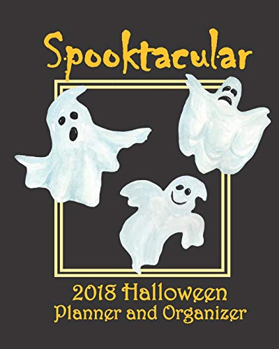 Spooktacular 2018 Halloween Planner and Organizer